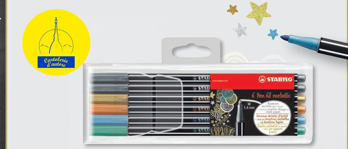 STABILO® Pen 68 metallic