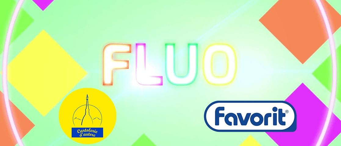 Favorit fluo neon cartolerie d'autore