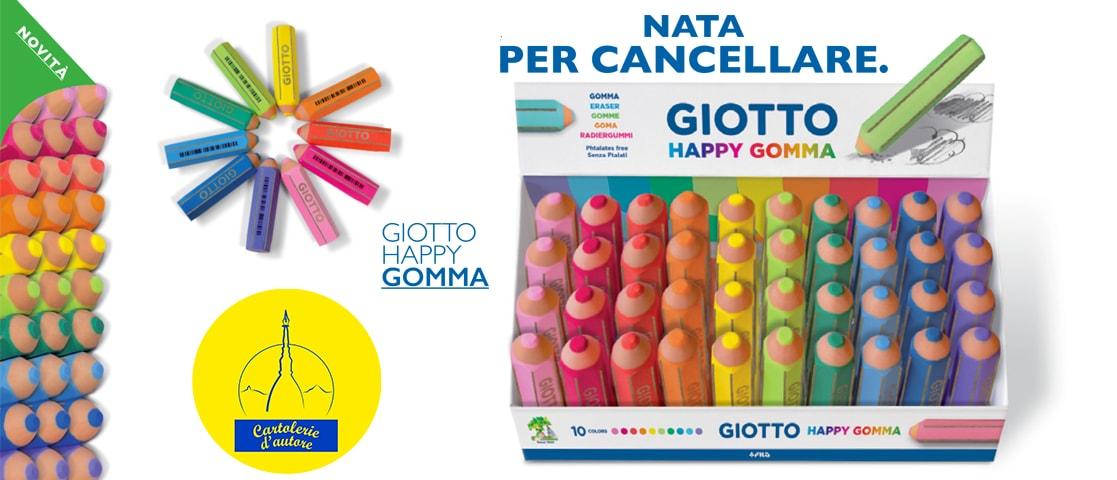 giotto happy gomma cartolerie d'autore