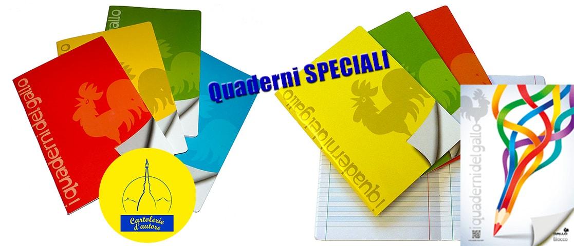 Quaderni speciali Cartolerie d'autore