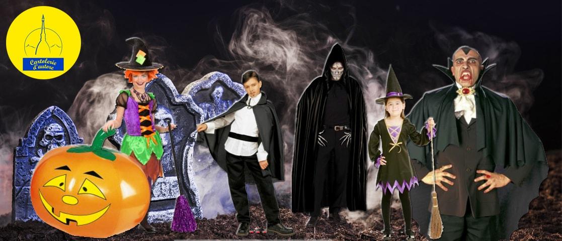 Vasto assortimento costumi di Halloween
